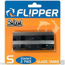 Flipper Standard Stainless Steel Replacement Blades (2 pack) Free USA Shipping