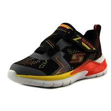 Scarpe sneakers in sintetico con luci per bambini dai 2 ai 16 anni