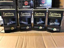 4 JACK DANIELS LYNCHBERG LEMONADE COCKTAIL KITS DANIEL'S BAR TIN CUP  LYNCHBURG