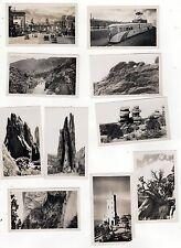 1940s ORIGINAL COLORADO SPRINGS Photographs PHOTOS Pike's Peak GARDEN OF GODS CO