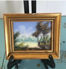 Mini Painting Hand Painted Made In Spain Landscape