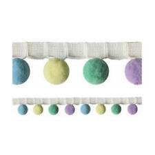 """10mm 100 x  /""""On Trend/"""" Pom Pom Balls in 5 Mixed Colour Shades lady-muck1"""