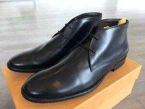 850$ Tod's Black Polacco Fondo Gomma Ankle Boots Size US 14 Made in Italy