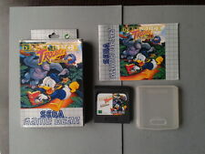 JUEGO SEGA GAME GEAR DEEP DUCK TROUBLE DONALD COMPLETO CIB CON CAJA Y MANUAL PAL