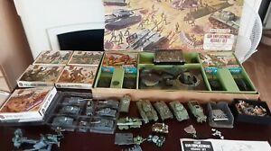 Airfix H0 00 Gun Emplacement # 800 military figures ,Tanks job lot...