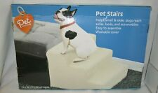 PET Central STAIRS Small or Older DOGS Animals Steps Washable Cover Assemble NEW