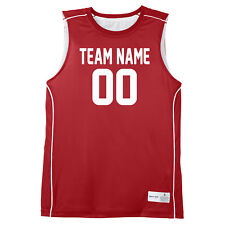 453a7c622 Custom Basketball Jersey - Youth to Adult - Four Colors Available -  Personalize