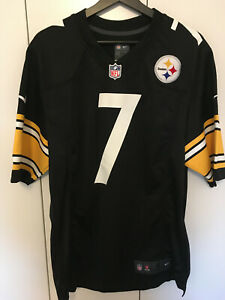 Pittsburgh Steelers NFL Jersey Trikot Ben Roethlisberger #7 Nike Größe M