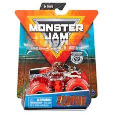 Authentic Monster Jam Hot Rod 1:64 Race Car Mud Wheels Truck Nitro Neon Zombie