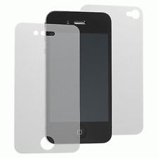 New Full Body Back + Front Screen Protector Anti Glare Matte for iPhone 4 #143
