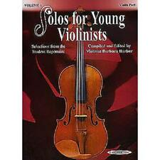 Solos for Young Violinists - Volume 1 [Musiknoten]
