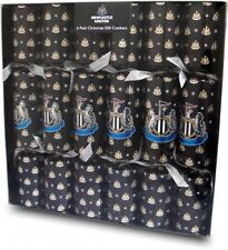 Newcastle United Luxury Christmas Crackers 6 Pack