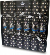 Newcastle United Luxury Christmas Crackers 6 Pack