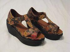 Dr. Doc Martens 'Adaya' Platform Sandals Tan Tattoo US Sz 7 - Gorgeous Style HTF