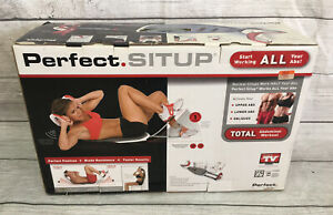Perfect SITUP by Perfect Fitness Crunch Abs Trainer Toner Home Fitness Open Box