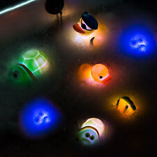Flashing Friends | UK | 4 x Flashing Rubber Duck LED Light Up Bath Tub Time Toy