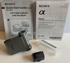 Sony HVL F20S Shoe Mount Flash for Sony alpha Nex Series Digital Cameras Silver