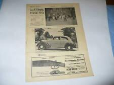 RIVISTA LA SETTIMANA DI CACCIA E PESCA N. 27 1937