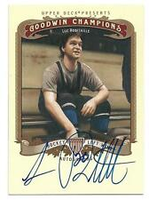 2012 Upper Deck Goodwin Champions Luc Robitaille Auto Rare SP