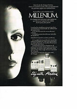 PUBLICITE  ADVERTISING  1980    MILLENIUM  cosmétique    ELISABETH ARDEN