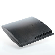 BLACK SNAKE PS3 SLIM CON TEXTURE pelle-Full Body Wrap-Decalcomania Adesivo Cover