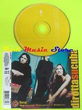 CD Singolo DIROTTA SU CUBA Bang! 1999 Germany CGD EAST WEST no mc dvd (S10*)