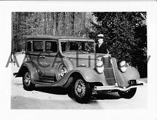 1933 Studebaker Commander Regal Sedan, Factory Photo (Ref. #90942)