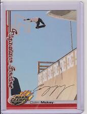 RARE 2000 AXS ROAD CHAMPS COLIN MCKAY SKATEBOARD CARD ~ SIGNATURE SERIES