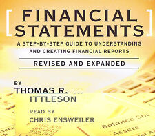 Financial Statements 3-CD Audiobook - Thomas R. Ittleson - NEW - FREE SHIPPING