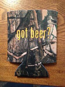 Got Beer? Funny Novelty Can Cooler Koozie Camo Version