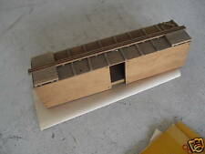 Vintage Oo Ho Scale Wood Boxcar Body w/ Instructions