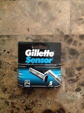 (1) Gillette Sensor Cartridges 5 Count