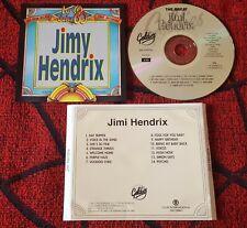 JIMI HENDRIX **Los 60 de los 60** 1995 Portugal CD MISSPRINTED INLAY NO BAR CODE