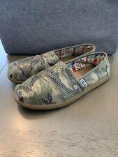 Bobs by Skechers Women Slippers Size 7.5 Ballet Flat Slip On Camouflage Camo