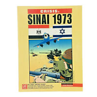 Crisis: Sinai 1973 Board Game 1995 GMT Games Complete UNPUNCHED