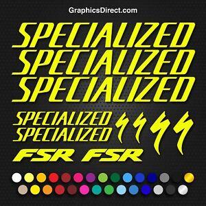 Specialized FSR Bike Sticker / Decal Set. (BDS21)