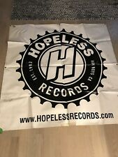 Hopeless Records Vinyl Backdrop 5' x 5' A7X Warped Tour Silverstein All Time Low