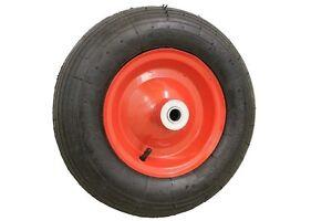 Citomerx® Schubkarrenrad 4.00-8 Schubkarre Rad Räder Ersatzrad Luftrad Reifen