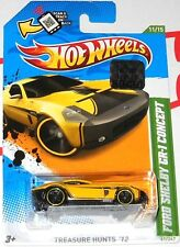 2012 HOT WHEELS FACTORY SET FORD SHELBY GR-1 CONCEPT TREASURE HUNT