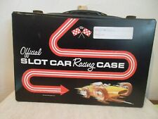 Official SLOT CAR Racing CASE by Standard Plastic Products