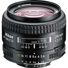 Nikon AF FX Full Frame NIKKOR 24mm f/2.8D Fixed Zoom Lens with Auto Focus