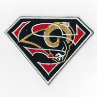 Los Angeles Rams [T] Iron on Patches Embroidered Badge Patch Applique Emblem FN