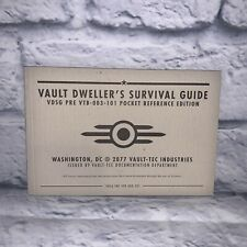 RARE Fallout 3 Vault Dweller's Pocket Survival Guide PAX 2008 Promo Bethesda