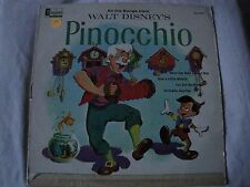 ALL THE SONGS FROM WALT DISNEY'S PINOCCHIO VINYL LP WHEN YOU WISH UPON A STAR VG
