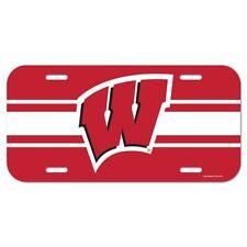 Wisconsin Badgers Car/Auto Team Logo License Plate Ncaa