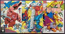X-Force #3,4 & 5. Marvel 1991. 3 x issues.