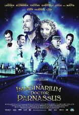THE IMAGINARIUM OF DOCTOR PARNASSUS Movie POSTER 27x40 UK Johnny Depp Heath