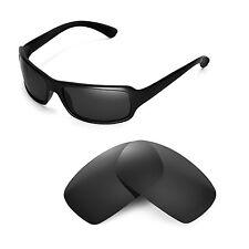 New Walleva Polarized Black Lenses For Ray-Ban RB4075 61mm