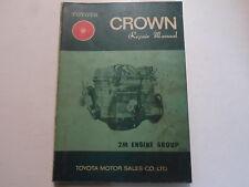 1970 Toyota Crown 2M Engine Service Repair Shop Manual Factory OEM Book Used