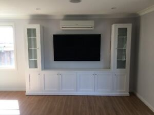 """Bomi-7.0"" Integrated TV Entertainment Wall Unit Bookshelf Living Room Furniture"